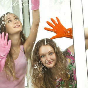 Mytí oken a skla